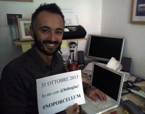 31 Ottobre 2013 - #NOPORCELLUMDAY
