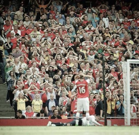 L'essenza del calcio: il calciatore tutt'uno col suo pubblico