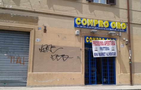 Roma, via di Bravetta. foto ldapost.