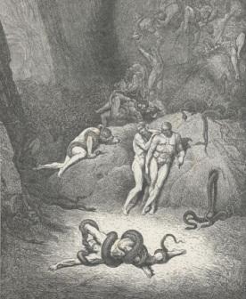 G. Doré, Le metamorfosi dei ladri.