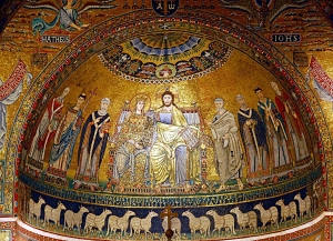 mosaico absidale
