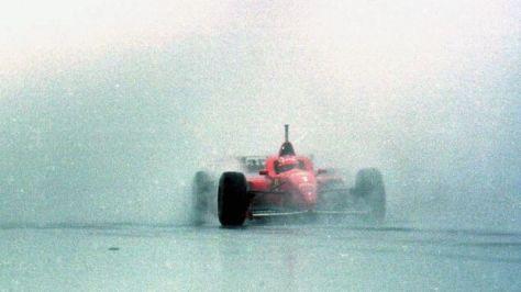 G.P. di Spagna, 1996. La prima vittoria in Ferrari.