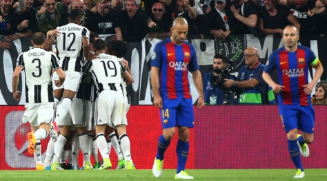 Juventus-Barcellona 3-0 Champions League 12017