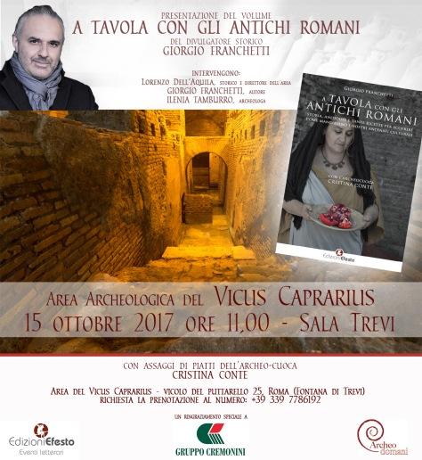 A tavola con gli antichi romani Giorgio Franchetti Lorenzo Dell'Aquila