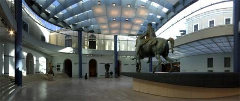 Esedra di Marco Aurelio, Musei Capitolini, Roma.