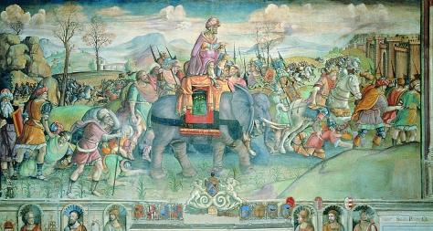 Annibale in Italia, Jacopo Ripanda, Roma, Musei Capitolini.