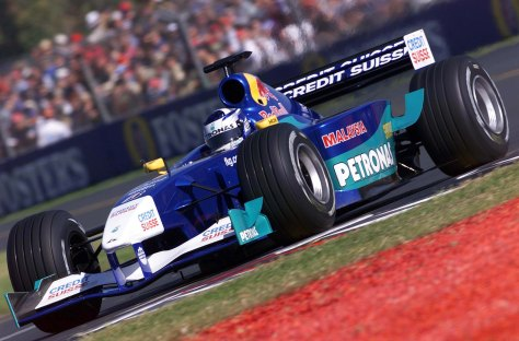 Kimi Raikkonen Sauber Petronas 2001